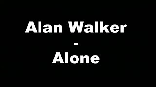 Alan Walker  - Alone (Hungarian lyrics\Magyar felirat) Video