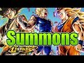 Majin Vegeta, Goku Black, Goku Super Saiyan 3 Step Up Banner Summons! || Dragon Ball Legends