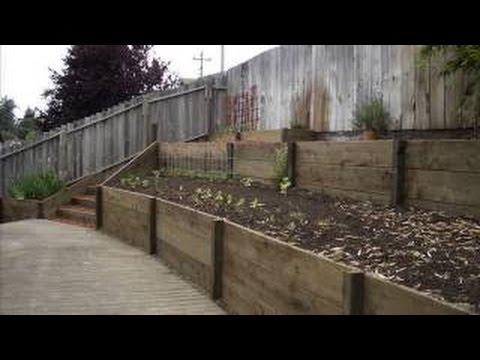 build retaining wall