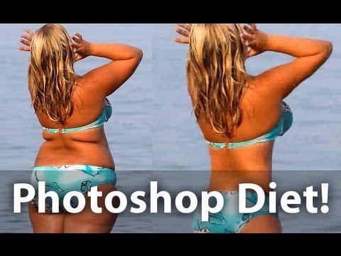 Lose Weight In Photoshop | Glazefolio Design Blog