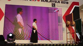 Kyudo (Archery performance). Japan Expo Malaysia 2019