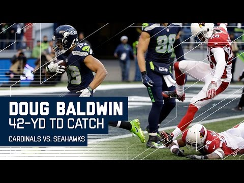 Doug Baldwin Burns the Cardinals Defense for a 42-Yard TD! | NFL Week 16 Highlights