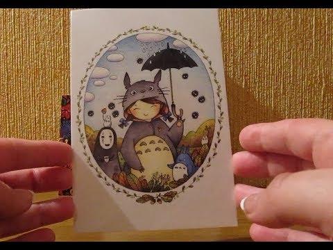 посткроссинг. postcrossing обзор открыток из магазина grape-art