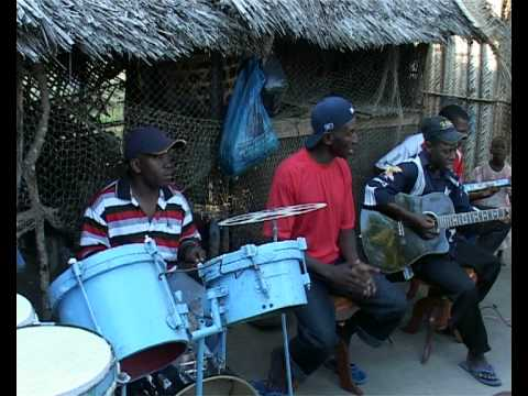 African musicians from Village Mlingotini, Tanzania.