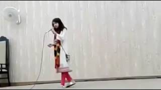 Mein Nara e Mastana by little girl | Amazing voice
