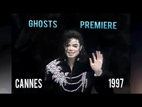Michael Jackson - Ghosts Premiere. Cannes, France 1997 | HD