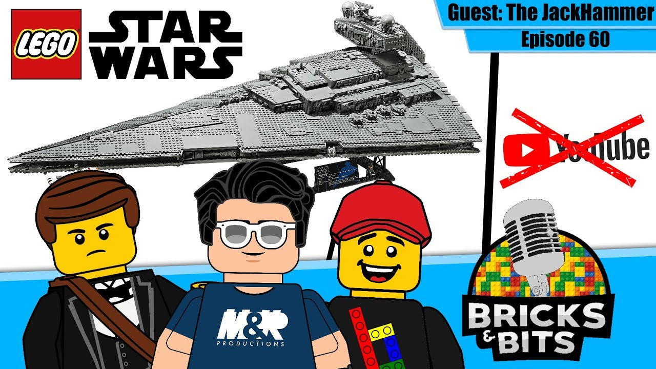 New LEGO Imperial Star Destroyer, YouTube is gonna RUIN us! - Bricks & Bits #60