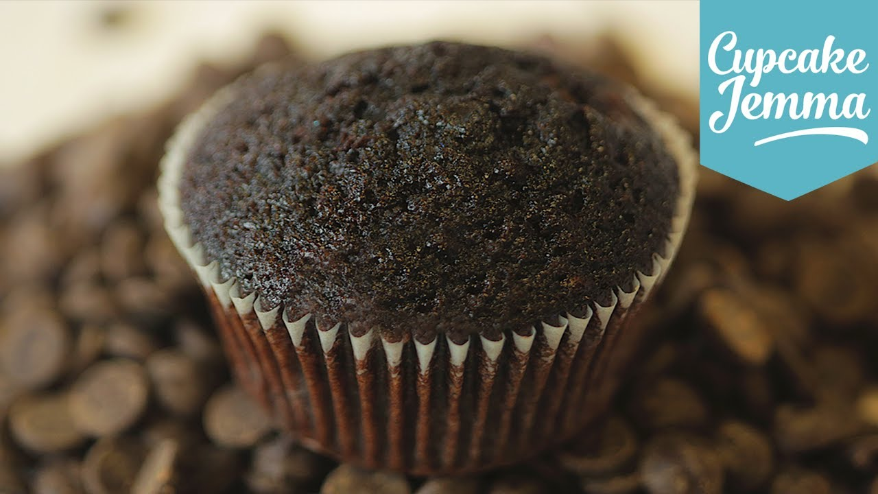 how to make plain chocolate cupcakes
