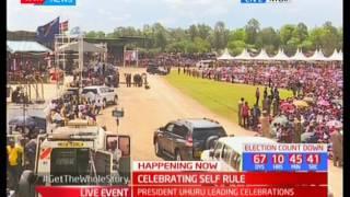 President Uhuru Kenyatta's full speech during the Madaraka Day celebrations