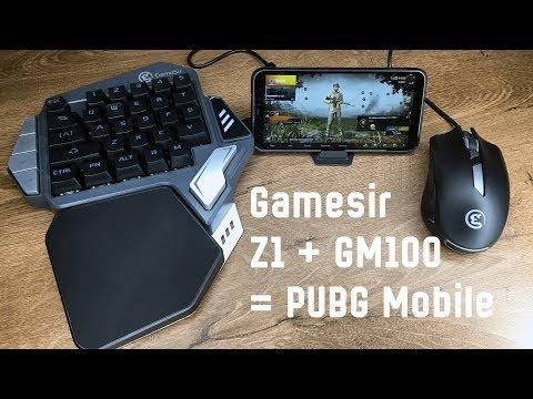 Мышь и клавиатура для PUBG Mobile - GameSir Z1 и GM100 | Распаковка и первое впечатление