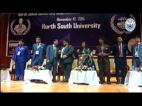 NSU Int'l Model UN Conference 2016 | Award Giving Ceremony