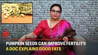 Fertility Specialist explains how pumpkin seeds can improve fertility
