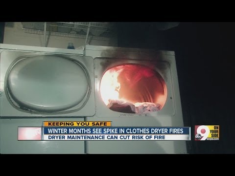 Major cause of dryer fires often ignored