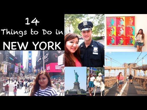 14 Things to Do in New York in 1 Week | Solo Girl trip