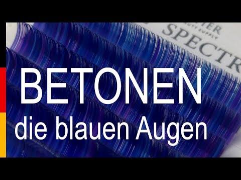Wimpern BEAUTIER Spectrum Type4 video