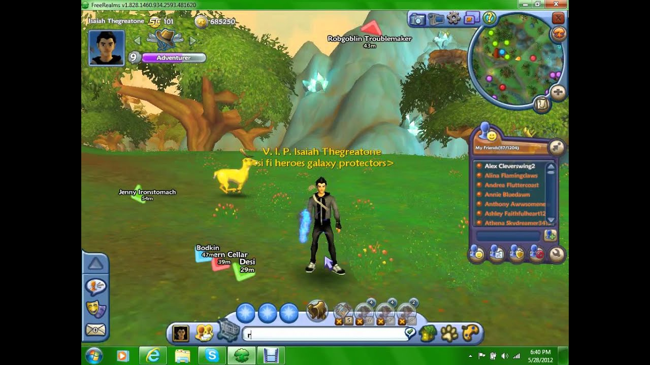 Free Realms How To Get 3 Free Rides!!! (only Works On The
