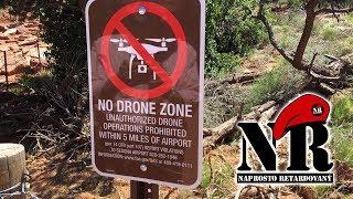 Naprosto retardovaný - Licence na drony