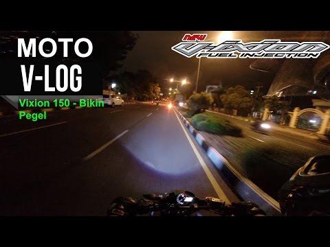 Motovlog Pekanbaru - Vixion 150 Bikin Pegel !