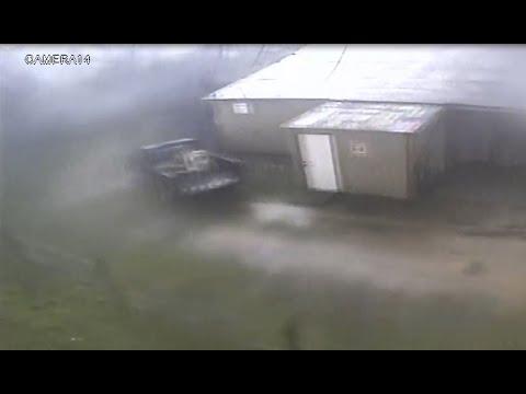 Lee County tornado captured on bar surveillance camera