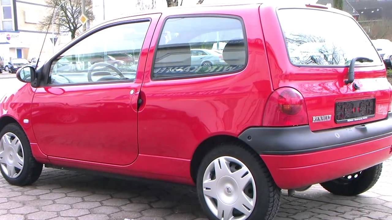 renault twingo 1 2 expression faltdach 2002 rot www. Black Bedroom Furniture Sets. Home Design Ideas
