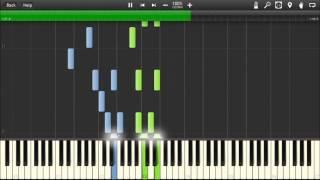Plants vs Zombies - Grasswalk - Piano tutorial (Synthesia)