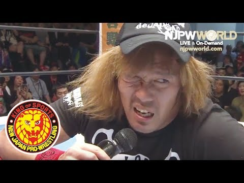 Jericho continues to talk a big game to Naito, but the IC champ vows to shut him up at the Dominion!