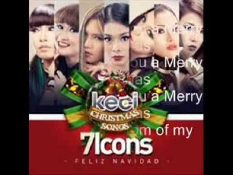 7 ICONS  Feliz Navidad Lirik