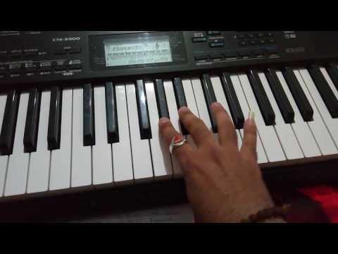 Mahi teri chunariya laherai piano song by Tarun vidja