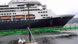 過去最大:zaandam大型旅客船名瀬港初寄港!