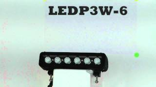 LEDP3W-6 - Low Profile, High Intensity LED Light Bar - 6, 3-Watt LEDs - 1368 Lumen - 9-48VDC(LED Light Bar contains 6, 3-watt high powered LEDs providing 27 watts of LED light power. This unit is able to sense incoming voltage and adapt, ranging from ..., 2011-02-18T03:21:14.000Z)