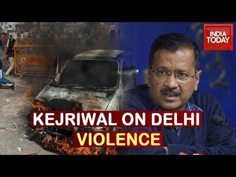 Arvind Kejriwal On Delhi Violence; Announces Rs 1 Cr Compensation For Kin Of Slain Cop Ratan Lal