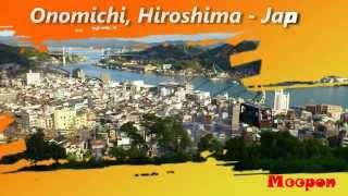 Kuil-kuil terkenal dengan pemandangan menakjubkan di Onomichi, Hiroshima, Jepang