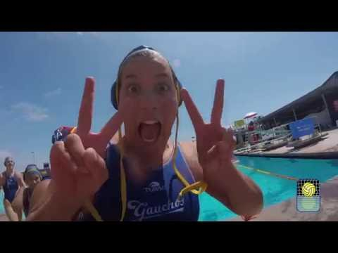 """An """"Inside Water Moment"""" with University of California-Santa Barbara Women's Club Water Polo"""