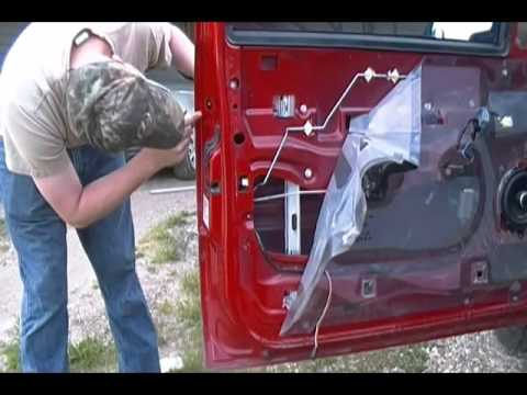 Chevy Silverado Door Latch Assembly Youtube