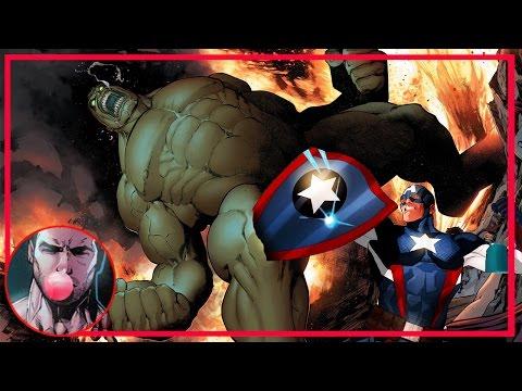 Капитан Америка УБИЛ ХАЛКА [ НE Хоукай ]. Гражданская война II. Marvel Comics.