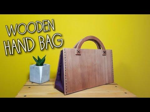 DIY WOODEN HANDBAG (English Subtitles)