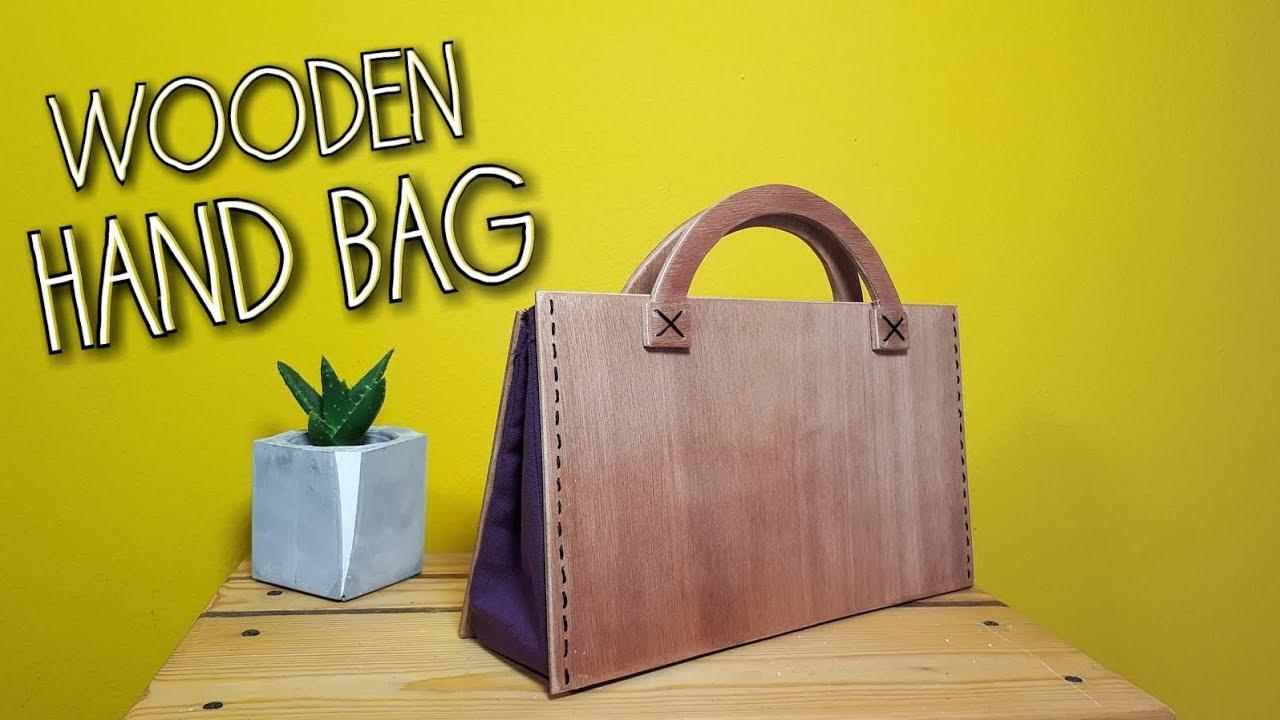 Diy Wooden Handbag English Subles