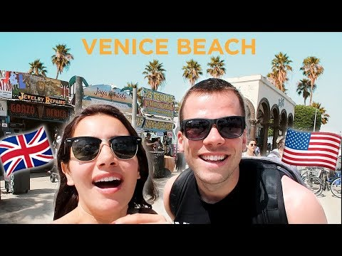 Exploring VENICE BEACH & BEVERLY HILLS For The First Time!