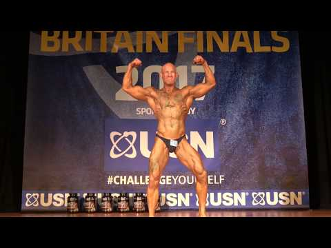 Paul Cox – Competitor No 18 – Class 2 - USN NABBA Novice Britain Final 2017