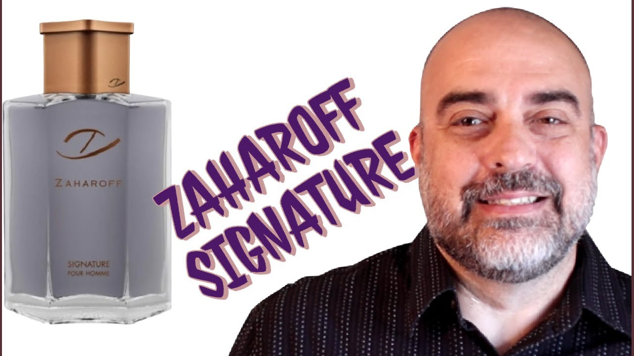 Zaharoff Signature Review #best #designer #fragrance #review #signature