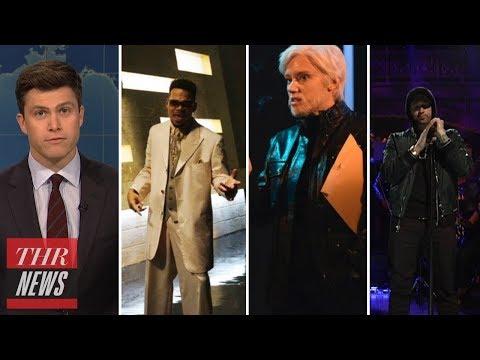 'SNL' Rewind: Chance the Rapper Hosts, Eminem Performs, Al Franken, Julian Assange Mocked | THR News