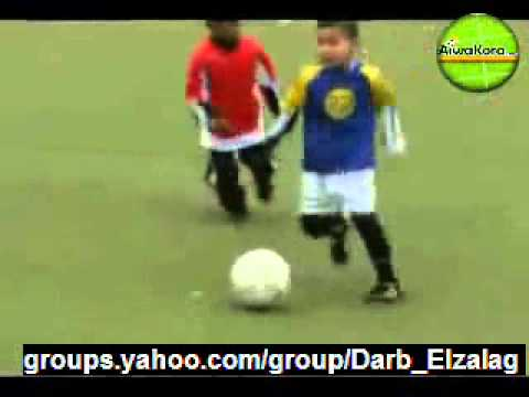 Extremely Talented Football kid!