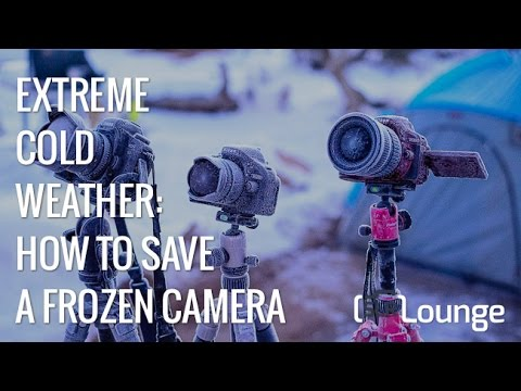 Watch Us De-Frost and Save a Frozen Camera | Cold Weather Photography Tips