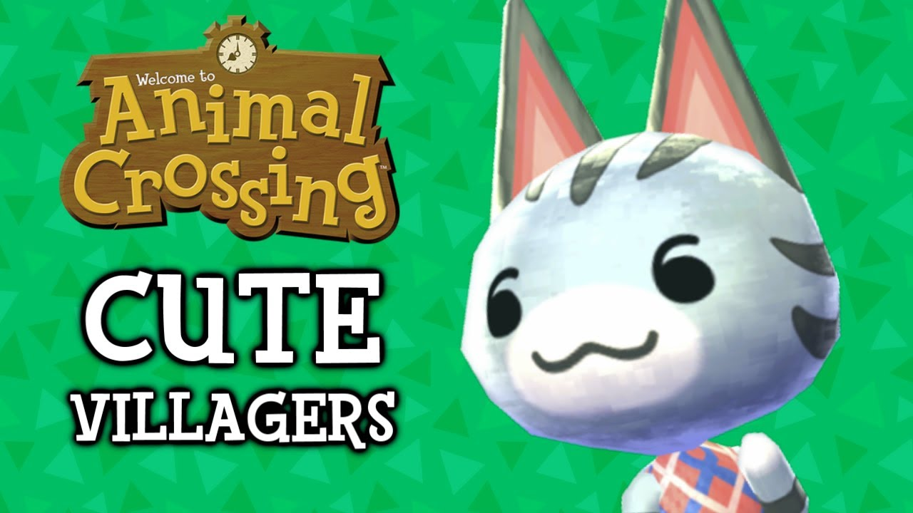 The 25 Cutest Animal Crossing Villagers Youtube