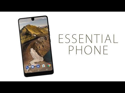 Essential Phone by Andy Rubin:  The BEST Android Phone Ever?