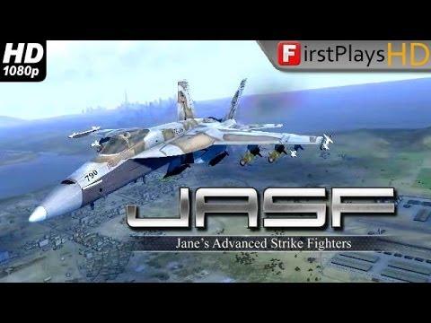 JASF: Jane's Advanced Strike Fighters - PC Gameplay 1080p