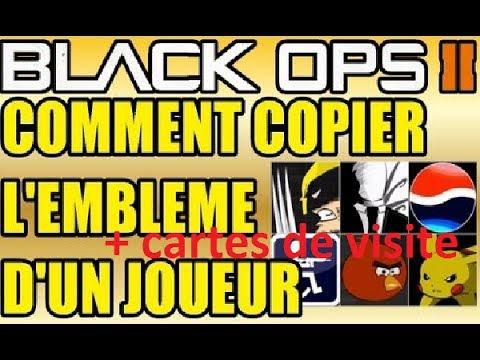 GLITCH ET HACK BO2 PAS PATCH Vole Les Cartes De Visites Et Emblme Sur Black Ops2