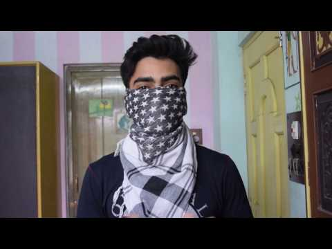 How To Tie Shemagh As Bandit Mask