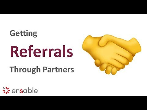 How To Get Referrals From Partners