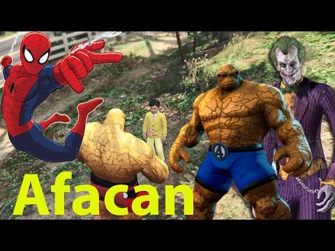 Şimşek Mcqueen Örümcek Adam, Joker  Ve Taş Adam Afacana Hain Tuzak, Jimmy Yardıma Koşuyor